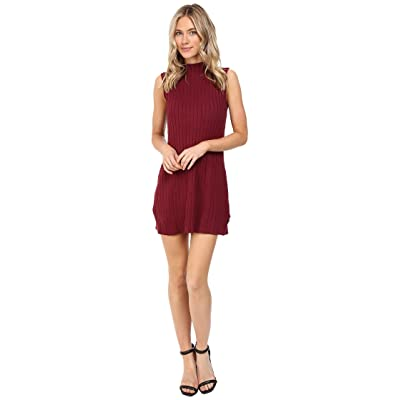 RVCA Banked Dress (Scarlet) Women