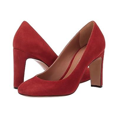 Emporio Armani Suede Heel (Cotto) Women