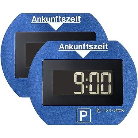 blau Digitale Parkscheibe elektronisch mit Zulassung