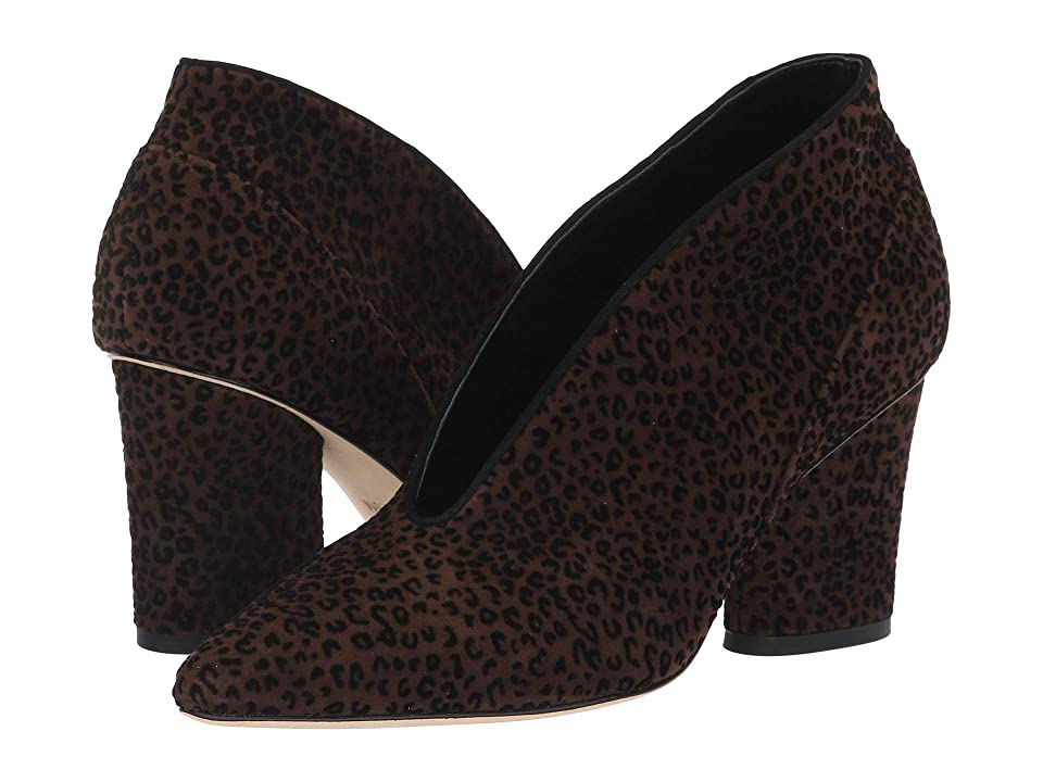 Donald J Pliner Gamay (Dark Brown Leopard Suede) High Heels
