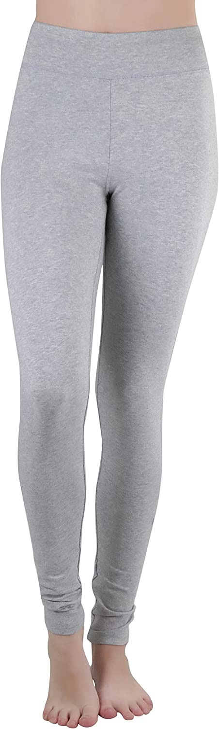 Super special price ToBeInStyle Women's High Latest item Waistband Cotton Length Leggings Full