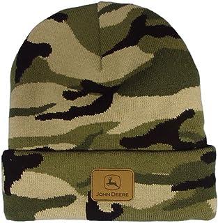 قبعة رأس مموهة من الجلد من جون ديري