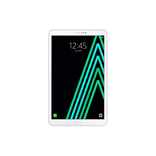 "Samsung Galaxy Tab A Tablette Tactile 10""  Blanc (32 Go, 2 Go de RAM, Android 7.0, Wifi, Bluetooth)"