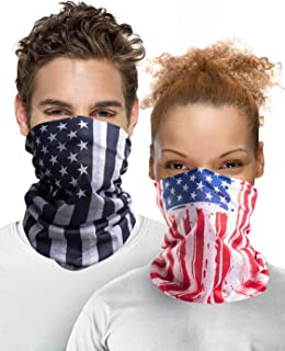 Sun UV Protection Face Cover Scarf Mask Neck Gaiter Breathable Windproof Bandana