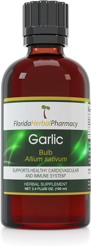 Florida 5 ☆ popular Herbal Pharmacy Garlic Tincture Extrac sativum Allium Ranking TOP2