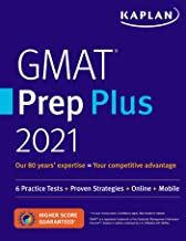 GMAT Prep Plus 2021: 6 Practice Tests + Proven Strategies + Online + Mobile
