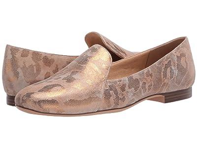 Naturalizer Emiline (Tan Gold Metallic Leopard Leather) Women