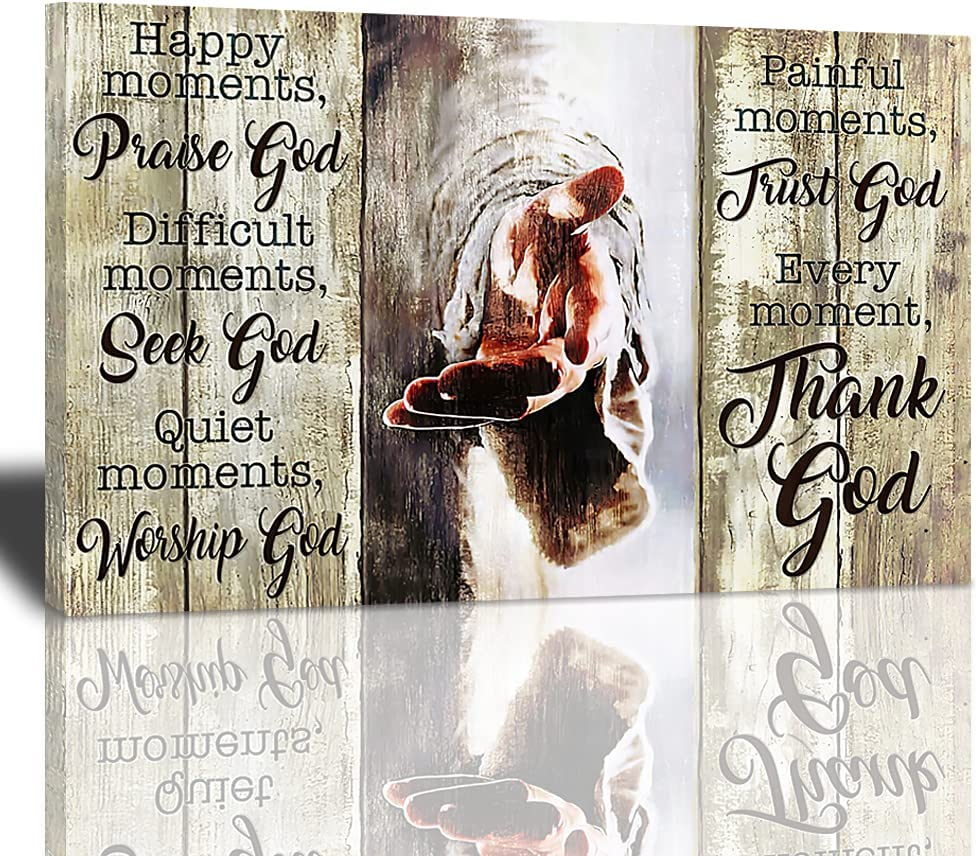 Amazing Jesus Poster Free shipping on Directly managed store posting reviews Christian Religious Art Canvas M Wall Every
