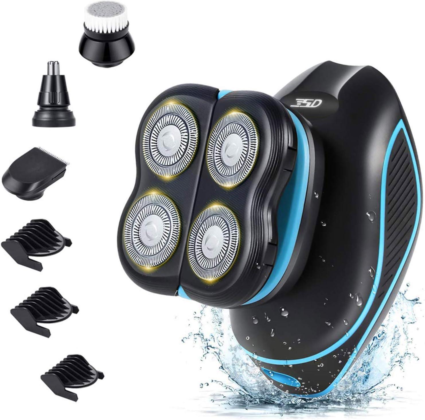 Amerfist Electric Razor for Credence Men Kit- Spring new work Waterproof 5-in-1 Grooming