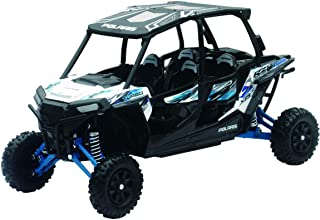 New-Ray Toys 1:18 Polaris RZR XP 4 Turbo (Matte White Lightning) (57843B)