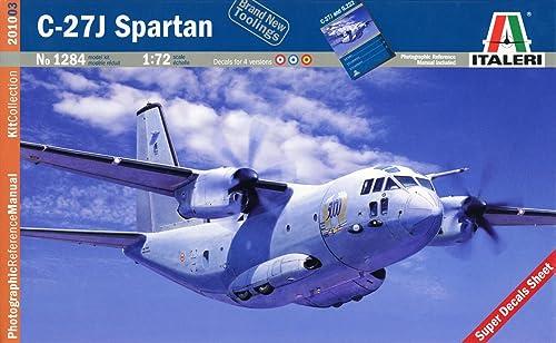 Tu satisfacción es nuestro objetivo Italeri 1284S C-27J Spartan - Maqueta de de de avin (escala 1 72) [importado de Alemania]  ventas en linea