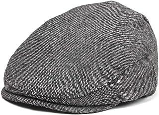 JANGOUL Kids Wool Tweed Flat Cap Herringbone Boy Girl Newsboy Caps Infant  Toddler Child Youth Beret da0586e79ba0