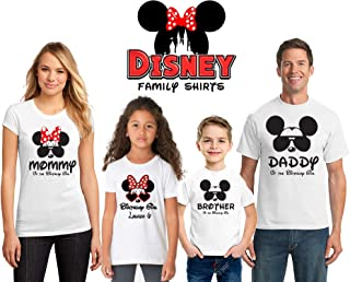 Disney Birthday shirts, Birthday Disney shirts for women men kids, Disney Family Shirts, Matching Family Disney Shirts, Personalized Disney Shirts for Family D3