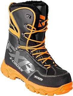 FXR X Cross Boot Orange/Black 18: Size Men's 9 Womens 11/42