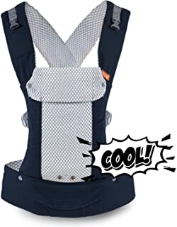 Beco Gemini Baby Carrier – Cool Mesh Navy, Sleek and Simple 5-in-1 All Position..
