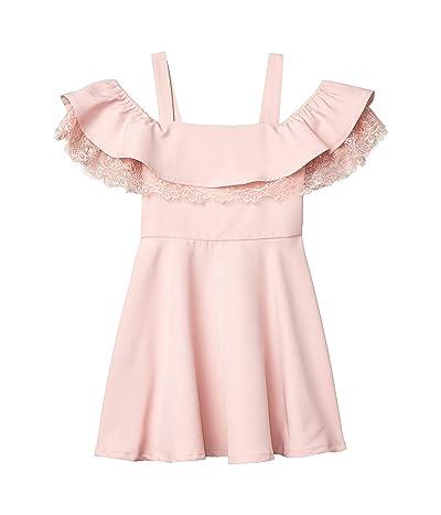 Bardot Junior Josie Frill Dress (Big Kids) (Blush) Girl
