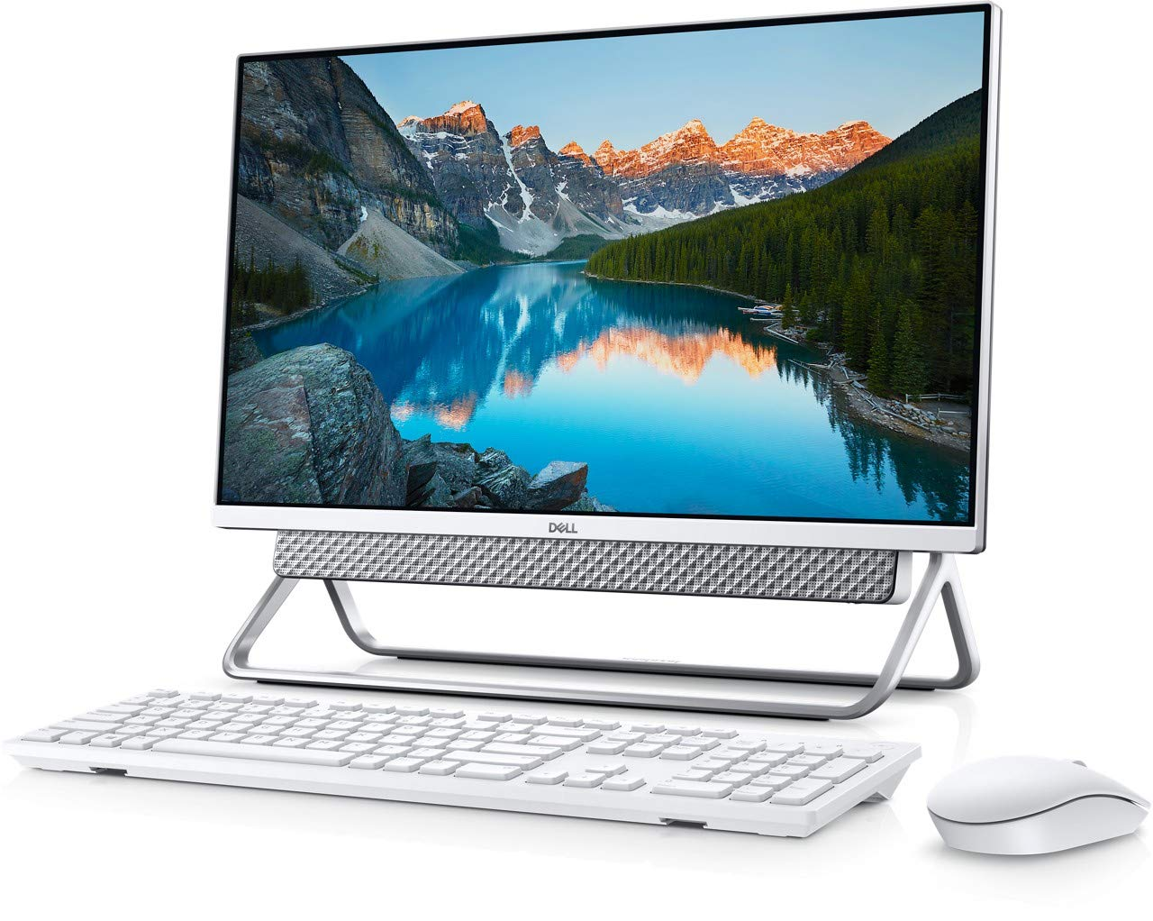 Dell Inspiron 5400 All In One Desktop Computer, 11th Gen Intel Core i5-1135G7, 23.8 Inch FHD Touch Screen, 512GB SSD, 8 GB RAM, Intel® Iris® Xe Graphics, Win 10 Home, Eng Ar KB, Silver