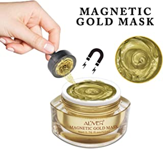 Magnet Mask Gold Luster Magnetic Face Mask Mineral-Rich Anti-stress Moisturizing Anti-aging Pore Cleansing