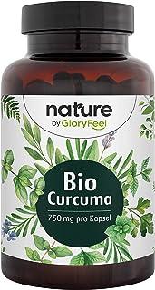 Ekologisk Gurkmeja - 240 Veganska Kapslar - 4602 mg (Eko-Gurkmeja + Eko-Svartpeppar) per Dag - Med 335 mg Curcumin + 12 mg...
