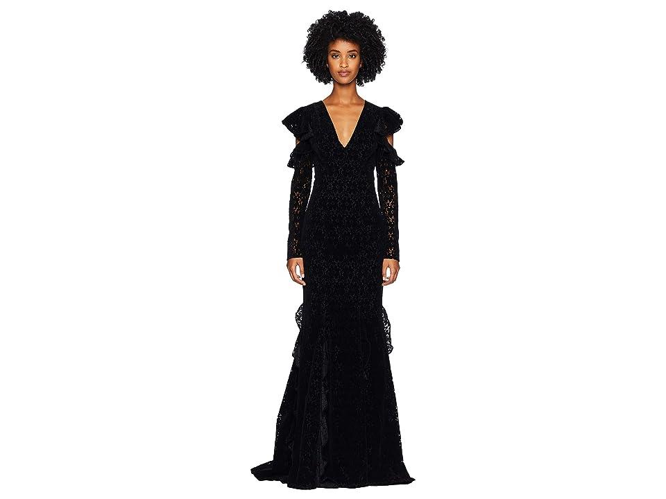 ZAC Zac Posen Carola Gown (Black) Women