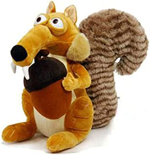 """NEW WITH TAGS  ICE AGE CONTINENTAL DRIFT SCRAT 10 /"""" PLUSH"""