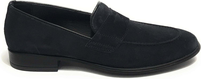 ANTICA CUOIERIA herrar herrar herrar Loafer Flats blå blå  incitament främjande