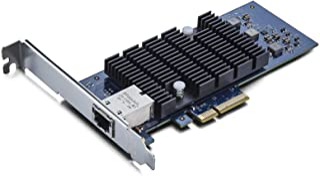10Gtek 10Gb PCI-E NICネットワークカード, シングルRJ45 ポート, 10Gbase-T LANカード, PCI-E3.0 X4/X8/X16, PCI Express イーサネット LANアダプターサポートWindows...