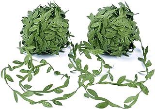 Tweal Artificial Vine Greenery Garland,40m Hojas Verdes Cinta Falsa Ivy Leaf Garland para DIY Wedding Party, decoración pa...