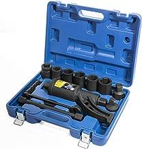 XtremepowerUS Torque Wrench Labor Saving Lug Nut Wrench Torque Multiplier w/Cr-v Socket (Torque Wrench W/ 8pc Socket Set)