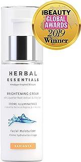 Herbal Essentials Brightening Cream With Liquorice Root Extract & Aloe Vera, Soothe, Soften & Gently Revitalise Your Skin, Includes Vitamin Rich Aloe Vera, Premium Skincare 50ml
