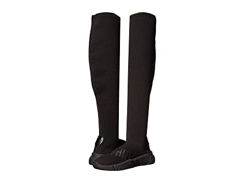 LOVE Moschino Over the Knee Stretch Sock Sneaker