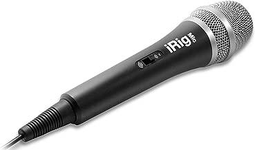 IK Multimedia iRig Mic handeld condenser mic for smartphones and tablets