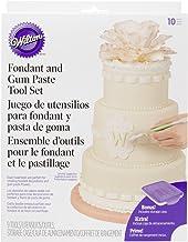 Wilton Fondant and Gum Paste Tools Set, 10-Piece