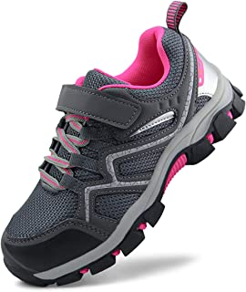 Kids Outdoor Trail Hiking Shoes Boys Girls Running Shoes...