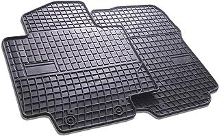 Frogum Alfombrillas de Goma 3D Alfombrillas de Coche TPE Borde Muy Alto compatibles con el Juego Audi A4 B8 2008-2015 Juego de 4 Piezas con Sistema de Montaje Negro