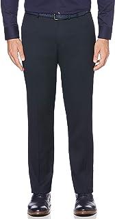 Perry Ellis Men's Solid Herringbone Slim Fit Pant