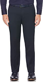 Perry Ellis Men's Solid Herringbone Slim Fit Pant