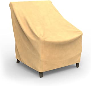 Budge All-Seasons Small Outdoor Chair Cover P1A03BG1 褐色 36-inch High by 30-inch Wide by 27-inch Deep