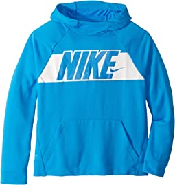 940e8a1eff71a4 Blue Hero White. 22. Nike Kids. Dry Graphic Training Pullover Hoodie ...