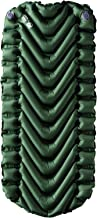 """Klymit Static V Long, Lightweight Sleeping Pad for Big and Tall (78"""" Long), For Camping, Backpacking, and Hiking"""