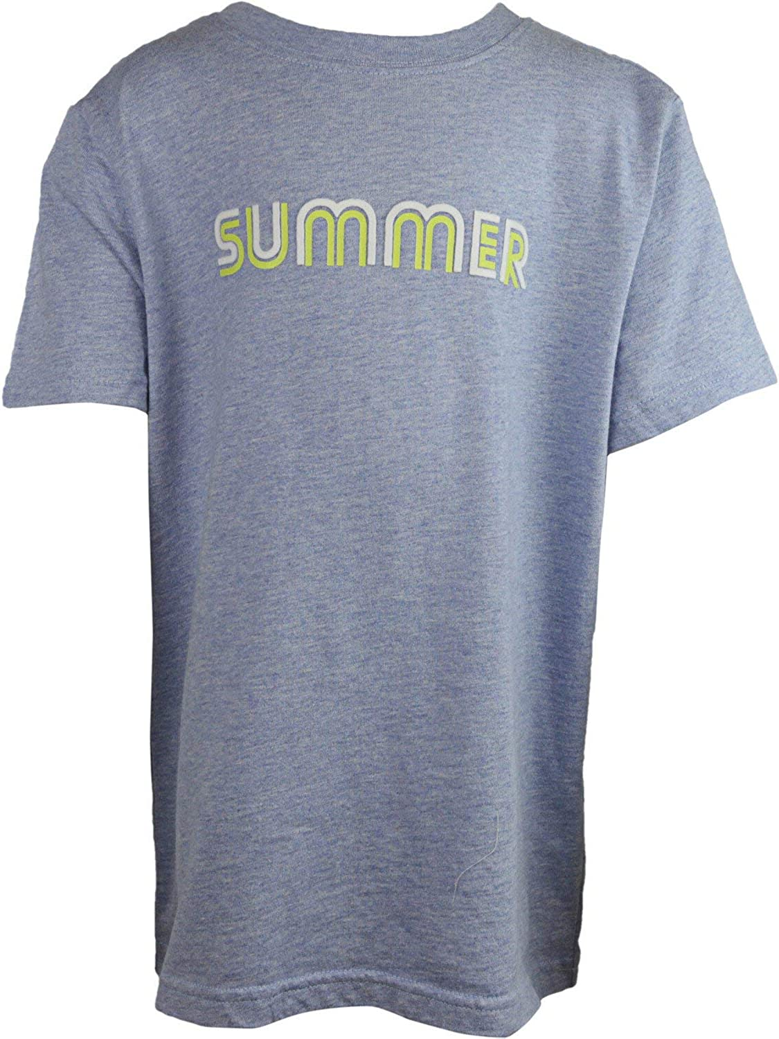 Janie and Jack Neon Summer Tee - 5 - Blue