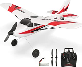 RC Plane Remote Control Airplane 3 Channel with 2.4Ghz Radio Control 6 Axis Gyro, Durable EPP Foam, Easy & Ready to Fly fo...