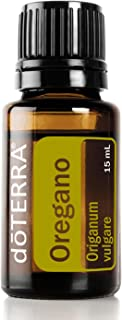 doTERRA - Oregano Essential Oil - Supports Healthy Immune System, Antioxidant Activity, Healthy Digestion, Respiratory Function, Cleansing Agent; for Diffusion, Internal, or Topical Use - 15 mL