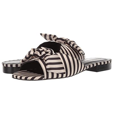 Cupcakes and Cashmere Yazia Sandal (Black/Cream) Women