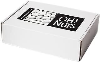 Oh! Nuts Jordan Almonds | Super Fine White Jordan Almond | Thin Coated Candy Shell 5 LB Bulk Box