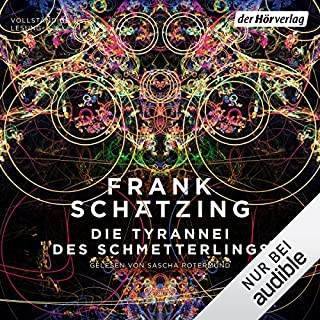 Die Tyrannei des Schmetterlings audiobook cover art