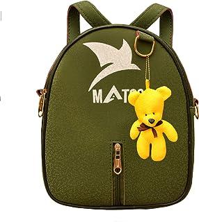 MATSS Green Artificial Leather Travel Bag For Women