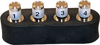 T3 Innovation RK104 Coax ID Remote Set: #1-4 Coax ID Includes Foam Holder