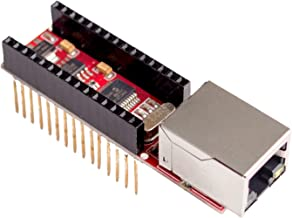 TD-ELECTRO 5PCS/LOT Nano V3 Ethernet Shield ENC28J60 Microchip HR911105A Ethernet Webserver Board Module for Arduino Nano 3.0