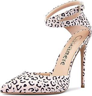 Castamere Scarpe col Tacco Donna Cinturino alla Caviglia Sandali Moda Tacco a Spillo 12CM High Heels